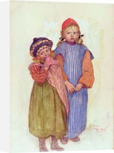 The Children of Carpenter Hellberg 1906 by Carl Larsson