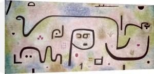 Insula dulcamara 1938 by Paul Klee