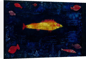 Der goldene Fisch (The Golden Fish), 1925 by Paul Klee