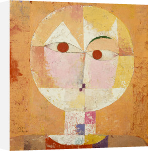 Senecio (Old man), 1922 by Paul Klee