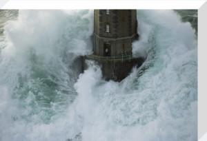Phare de La Jument - The Lighthouse Keeper III by Jean Guichard