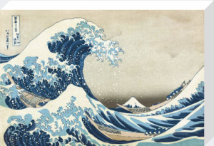 The Great Wave at Kanagawa by Katsushika Hokusai