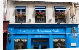 Hotel in Rue Vieille du Temple, Marais Quarter, Paris, France by Sergio Pitamitz