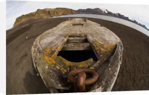 Old Whaling Boat, Telephone Bay, Deception Island, South Shetland Islands, Antarctica by Sergio Pitamitz
