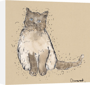 Kitty Tales IV by Clare Ormerod