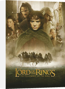 Lord of the Rings - Fellowship One Sheet by Anonymous