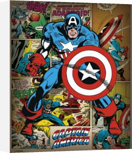 Captain America - Retro by Marvel Comics