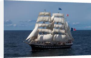 Tall Ship Belem II by Jean Guichard