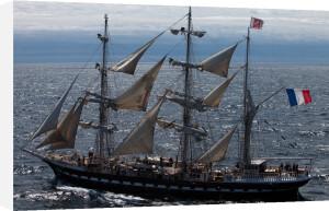 Tall Ship Belem III by Jean Guichard