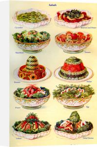 Salads by Mrs Beeton