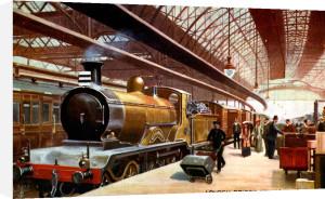 London Bridge Station, c.1900 by Gilette