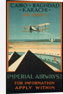 Imperial Airways - Cairo-Baghdad-Karachi by National Railway Museum