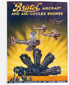 Bristol - Aircraft and Air-Cooled Engines by National Railway Museum