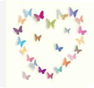 Butterfly Heart I by Sasha Blake