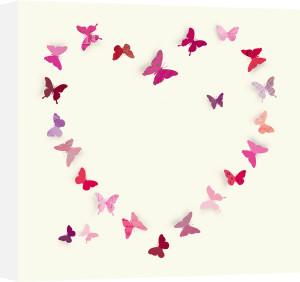 Butterfly Heart II by Sasha Blake