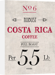 Costa Rican Coffee by The Vintage Collection