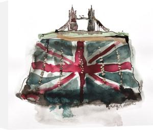 Tower Bridge Clutch by Bridget Davies