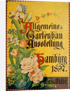 Gartenbau Ausstelung, Hamburg 1897 by Georg Thielen