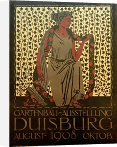 Gartenbau Ausstelung, Duisburg 1908 by Ludwig Ten Hempel