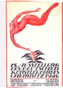 Art Exhibition, Chemnitz 1920 by Schaffer