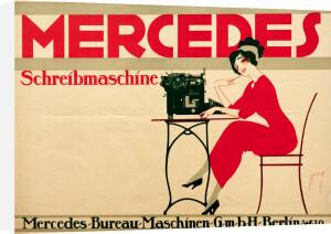 Mercedes Typewriter, 1911 by Ernst Deutsch