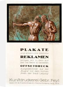 Feyl Bros Art Printers, Berlin 1915 by Anonymous