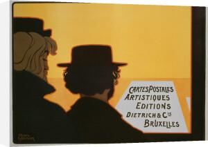 Artistic Postcards, Brussels 1900 by Henri Meunier