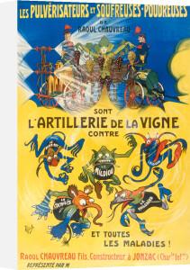L'Artillerie de la Vigne, 1900 by Anonymous