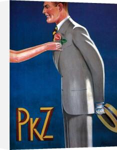 PKZ - Mens Fashions, 1927 by Blaser