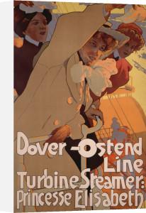 Dover -Ostend Line, 1900 by Adolfo Hohenstein