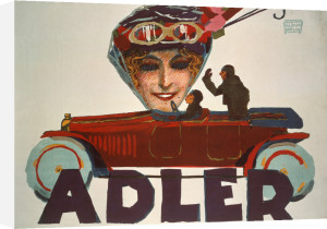Adler Automobiles, 1914 by August Hajduk
