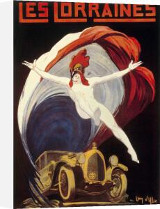 Les Lorraines Automobiles, 1925 by Jean Villen
