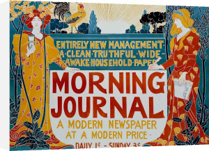 Morning Journal, 1895 by Louis Rhead
