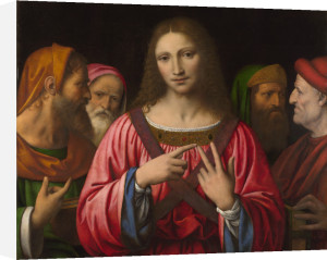 Christ among the Doctors by Bernardino Luini