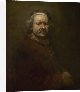 Self Portrait at the Age of 63 by Rembrandt