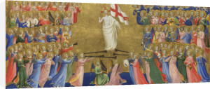 Christ Glorified in the Court of Heaven: Central Predella Panel by Fra Angelico