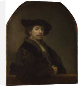 Self Portrait at the Age of 34 by Rembrandt
