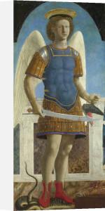 Saint Michael by Piero Della Francesca