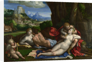 An Allegory of Love by Garofalo