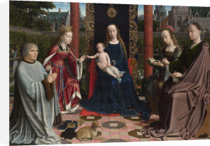 The Virgin and Child with Saints and Donor by Gerard David
