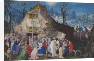 The Adoration of the Kings by Jan Brueghel the Elder