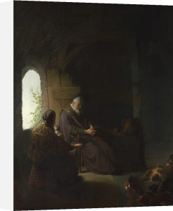 Anna and the Blind Tobit by Rembrandt