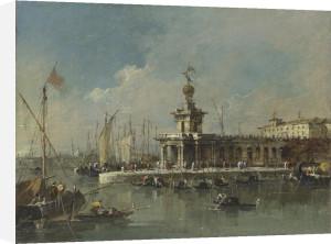 Venice: The Punta della Dogana by Francesco Guardi