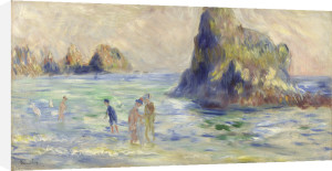 Moulin Huet Bay, Guernsey by Pierre Auguste Renoir