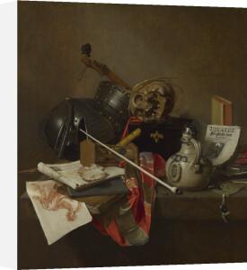 Vanitas Still Life by Jan Jansz Treck