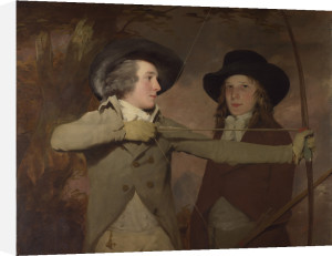 Robert Ferguson of Raith 1770-1840 and Lieutenant-General Sir Ronald Ferguson 1773-1841 ('The Archers') by Sir Henry Raeburn