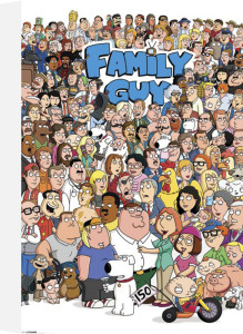 Family Guy - Characters by Anonymous