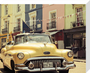 An American in London by Keri Bevan