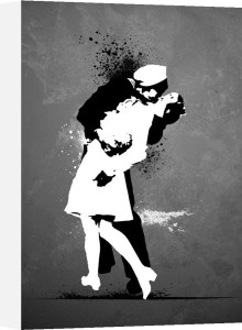 Wars End Kiss by Anonymous