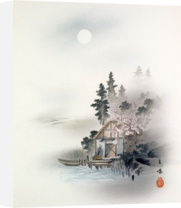 Fisherman's Hut by Anonymous Chinese Artist